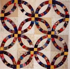 wedding ring quilt pattern wedding ring quilt best traditional and contemporary ideas