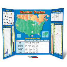 Weather Map Symbols Amazon Com Learning Resources Weather Tracker Toys U0026 Games