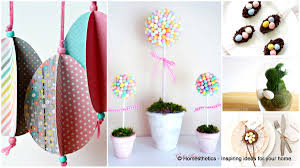 homemade easter decorations for the home 29 splendid easy easter crafts to beautify your home