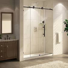 tub with glass shower door paragon bath crsbs0362 orb tub frameless shower door oil rubbed
