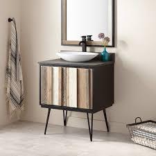 striking vessel sink vanity signature hardware