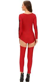 Halloween Skeleton Costume Red Bad Bone Halloween Skeleton Costume Halloween Costumes