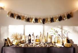 nye party kits a new year s gold party the sweetest occasion