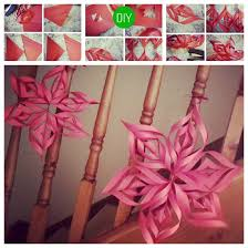 How To Make Home Decorating Items How To Make A 3d Paper Star Decoration Image 1947312 By