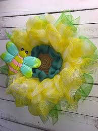 spring flower wreath summer flower wreath flower wreath flower