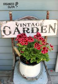Flower Garden Chairs Organized Clutter Updated Junk Garden Container Photos