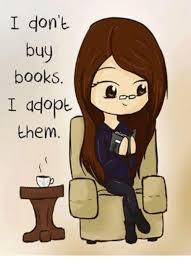 Buy All The Books Meme - i don t buy books adopt them books meme on me me