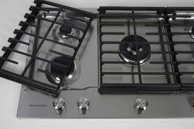 Ge Gas Cooktop Reviews Kitchenaid Kcgs556ess 36 Inch Gas Cooktop Review Reviewed Com Ovens