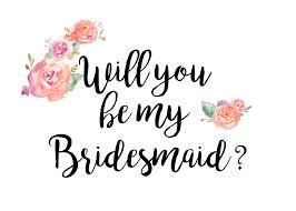 will you be my bridesmaid will you be my bridesmaid pink cosmetics