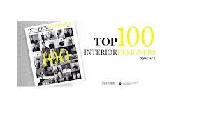 interior design magazine logo top 100 interior designers by coveted magazine and boca do lobo 1