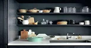 etagere cuisine etagere deco cuisine lorganisation dun rangement de cuisine sans