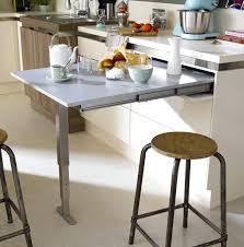 table de cuisine avec rangement cuisine avec table intgre affordable modele de cuisine avec ilot