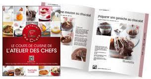 livre de cuisine grand chef les livres de cuisine de l atelier des chefs