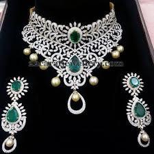diamond sets images grandeur and unique diamond set jewellery designs jewellery