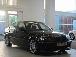used bmw 3 series uk used bmw 3 series 2003 manual diesel 320d sport 4 door black for
