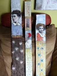 paintings on wood for sale lia original portrait painting on wood maud