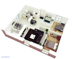2 bhk house plan apartment two bedroom house plan and design awesome 3d small modern