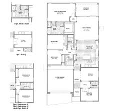Pueblo House Plans by Prato Plan 4066 Saguaro Bloom Marana Arizona D R Horton