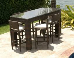 Darlee Patio by Bar Stools Darlee Ten Star 4 Person Patio Bar Set Antique Bronze