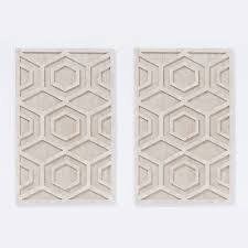 whitewashed wood wall hexagon west elm