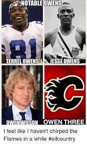 Terrell Owens Meme - notable owens terrel owens jesse owens owennison owen three i feel