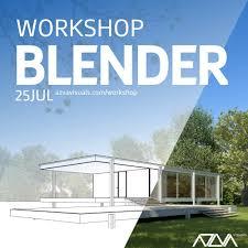 workshop architecture visualization with blender portugal