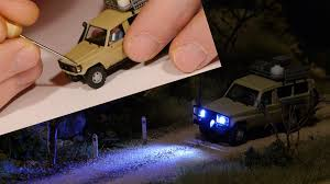 how to add lights to ho scale vehicles model railroad