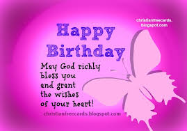 nice and happy birthday god bless you free christian cards