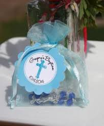 personalized baptism favors rosary bead favors christening rosary favors