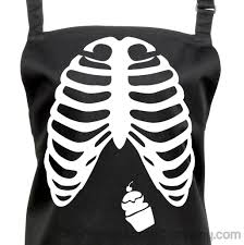 Halloween Cupcakes Skeleton by Buy Halloween Cupcake Ribs Apron With A Pocket Full Of Cupcakes At