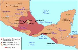 aztec mayan inca map aztecs incas and mayans multnomah county library