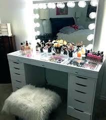 makeup vanity table with drawers desk for makeup cherriescourt info