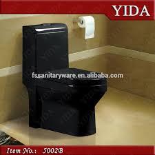 Five Star Hotel Bathroom Black Wc Sanitary Ware Product China Wc