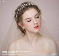 bridal headwear wedding fascinator headpiece with flowers