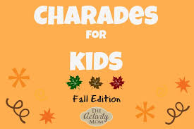 the activity charades for