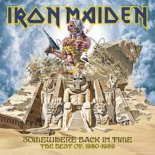 Iron Maiden Flag Iron Maiden Somewhere Back In Time Nuclear Blast