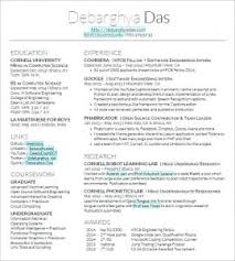 Best Latex Resume Template by Winsome Ideas Latex Resume Templates 8 15 Free Samples Examples