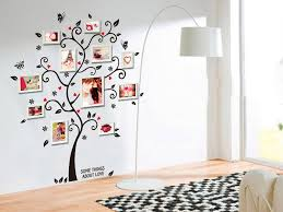wall sticker in the shape of a tree for photo frames free 1 of 7