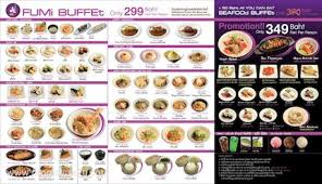 cuisine promotion promotion fumi japanese cuisine promotion2u โปรโมช นท ย