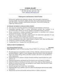 teacher resume preschool teacher resume with no experience