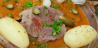 cuisine langue de boeuf langue de bœuf sauce tomate facile et pas cher recette sur
