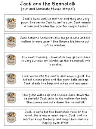 jack and the beanstalk companion packet speechy musings