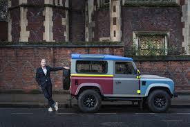 land rover bespoke the paul smith defender land rover releases film exclusive