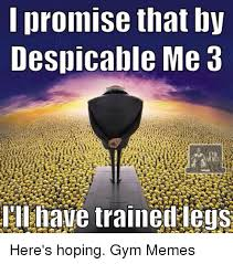 Dispicable Me Memes - promise that by despicable me 3 ill have traineilleqs here s