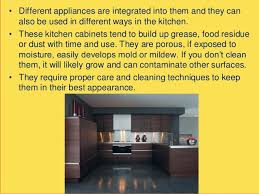 How To Clean The Grease Off Kitchen Cabinets by How To Clean Plywood Kitchen Cabinets