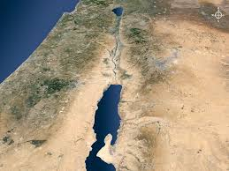 Dead Sea Map Free Bible Images A Blank Set Of Satellite Maps Of Israel At