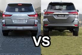 lexus lx 570 vs mercedes gls benim otomobilim 2016 lexus lx 570 vs 2016 toyota fortuner design