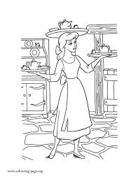 52 images cinderella disney coloring pages