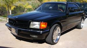 mercedes 560 sec coupe for sale 1984 mercedes 500sec model 2 owner w126 560sec coupe for