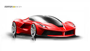 car ferrari drawing ferrari laferrari automotive product design drawings pinterest